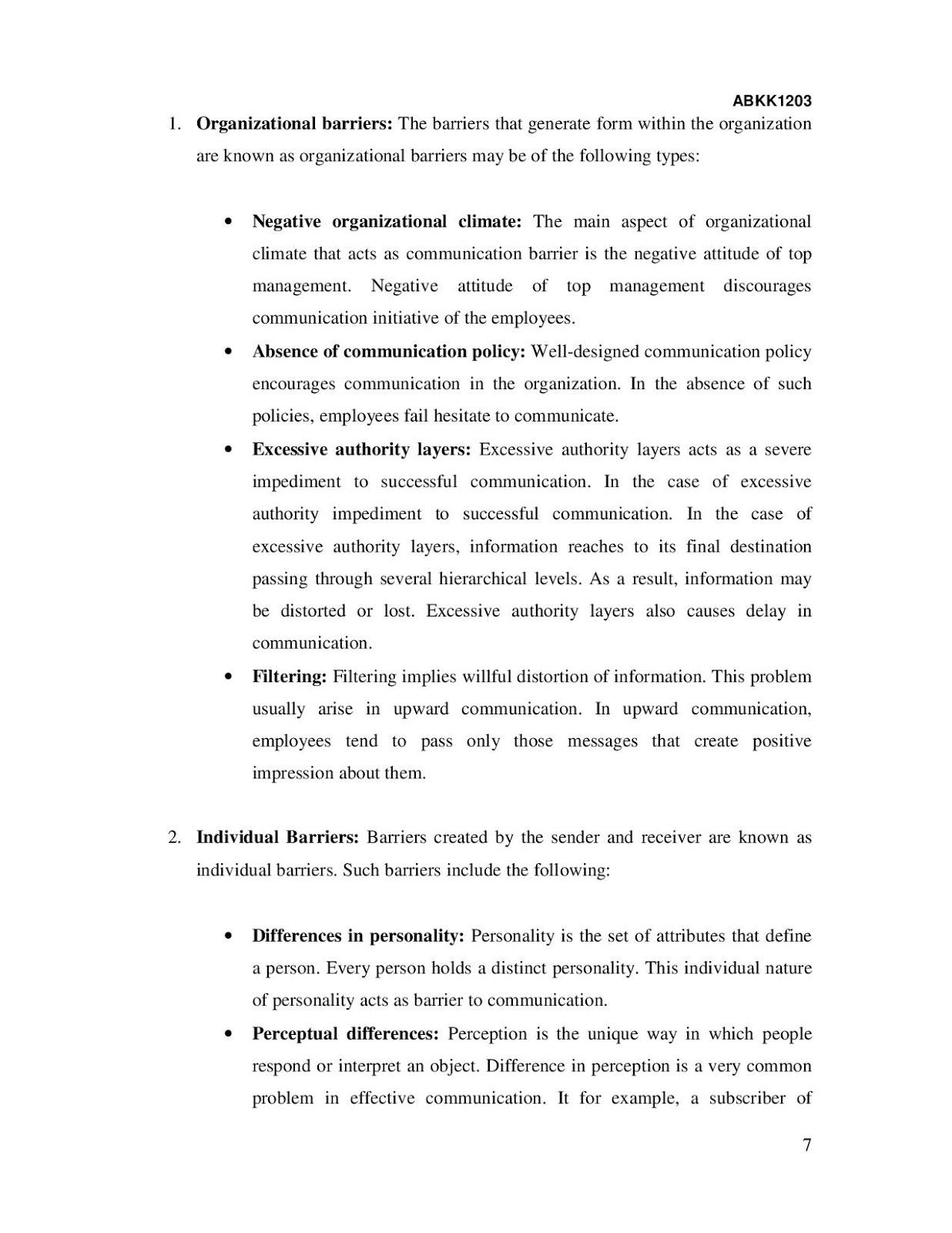 INTRODUCTORY BUSINESS COMMUNICATION - UpahBuatAssignment