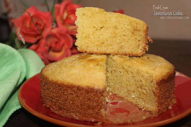 Semolina Fresh Cream Cake