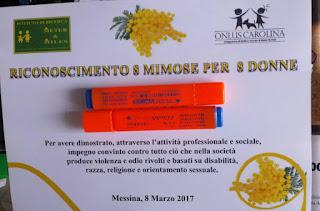 OLTRE LE MIMOSE. L'OTTO MARZO DELLA METER&MILES