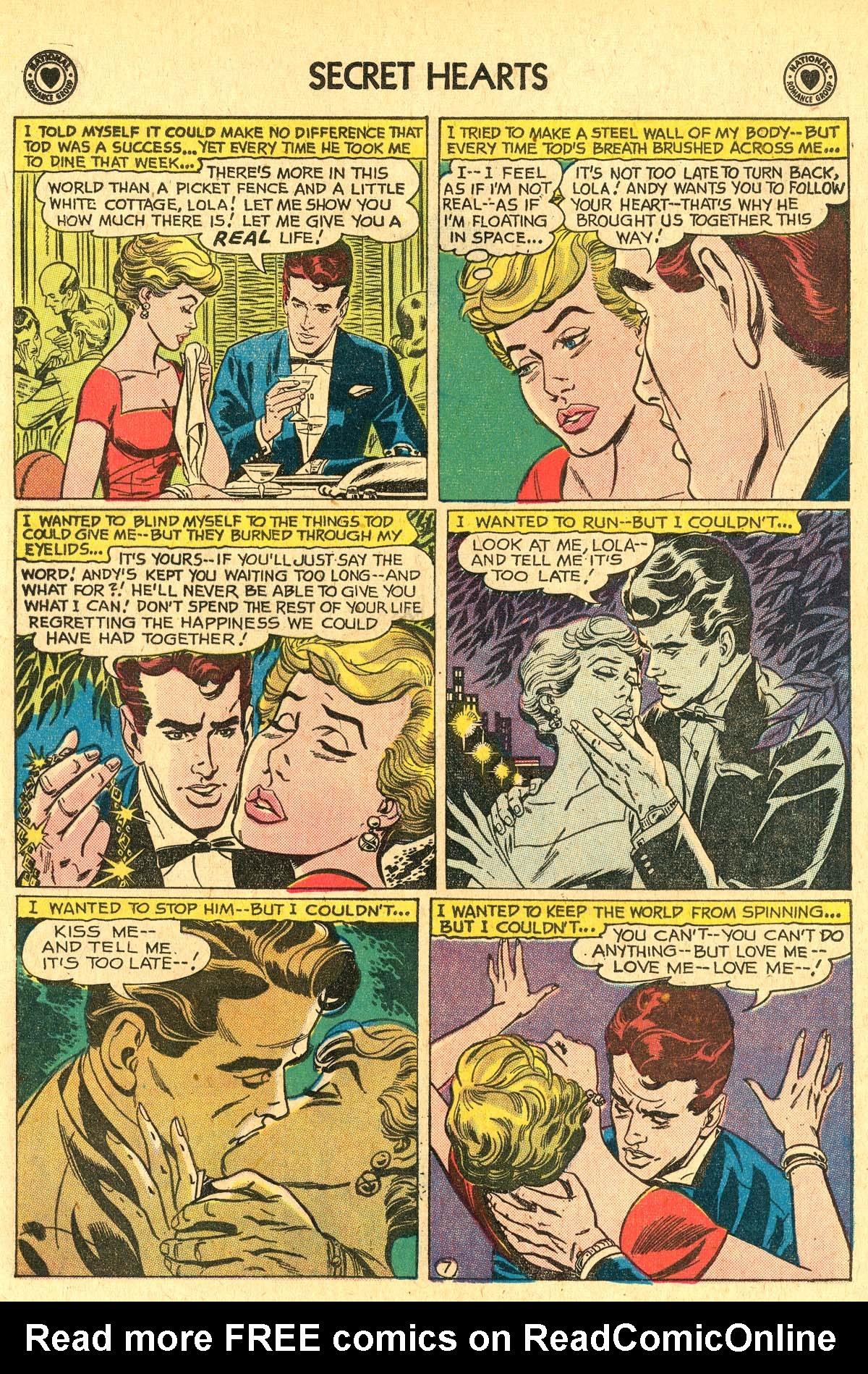 Read online Secret Hearts comic -  Issue #60 - 16