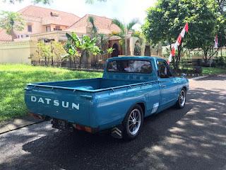 BUKALAPAK MOBKAS RETRO : Forsal Datsun Pickup 620 - JOGJA