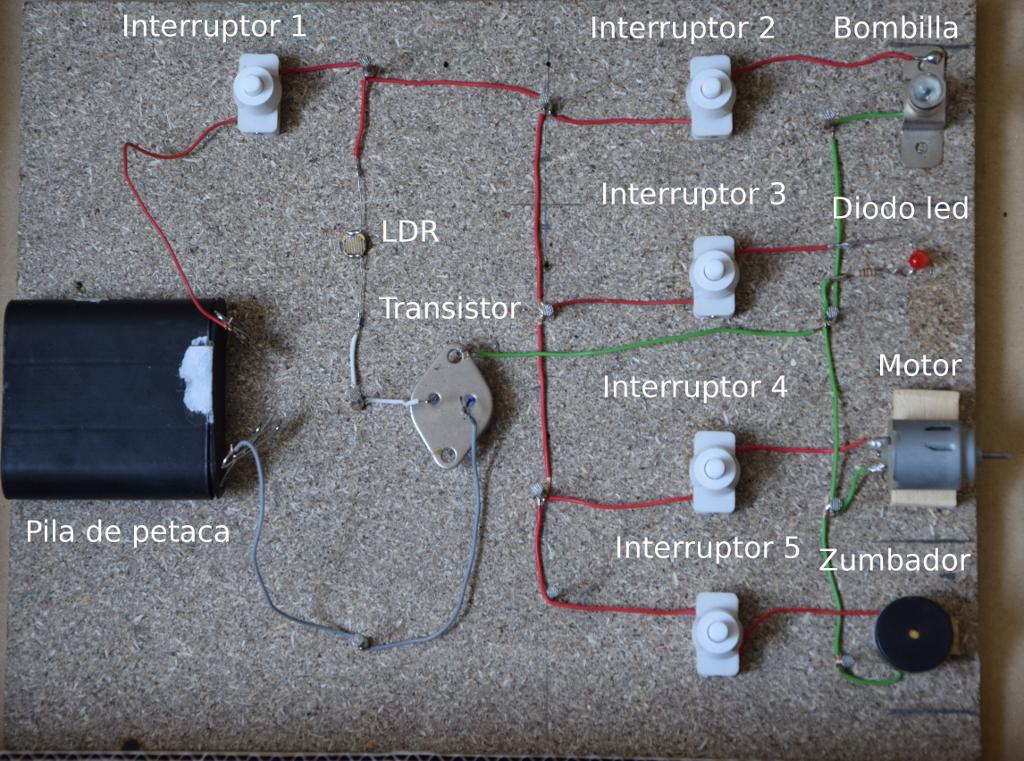 Circuito Ldr : Proyectos de tecnologÍa ldr resistencia dependiente de la luz