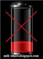 Menghilangkan Tanda Silang Merah pada Baterai di Windows 7