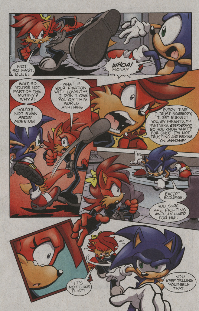 Read online Sonic The Hedgehog comic -  Issue #194 - 14
