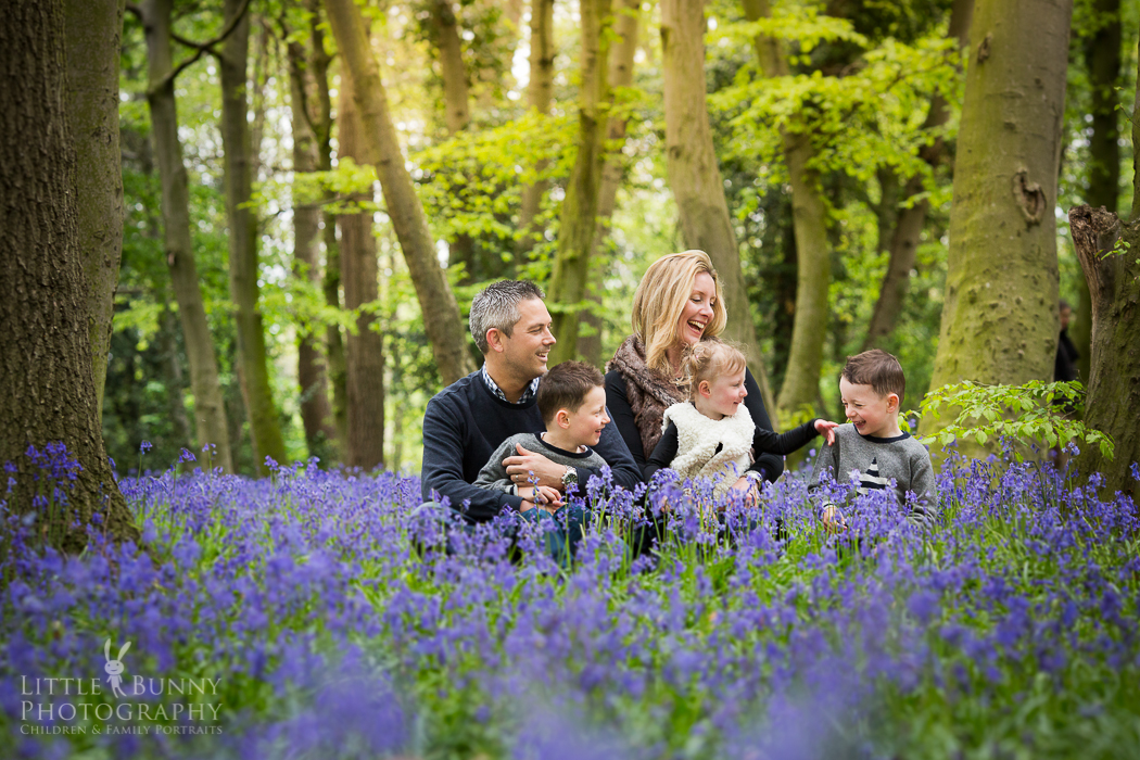 Bluebell portrait session Wanstead