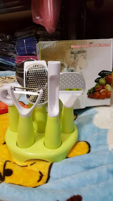 7in1 kitche untensil set with stand