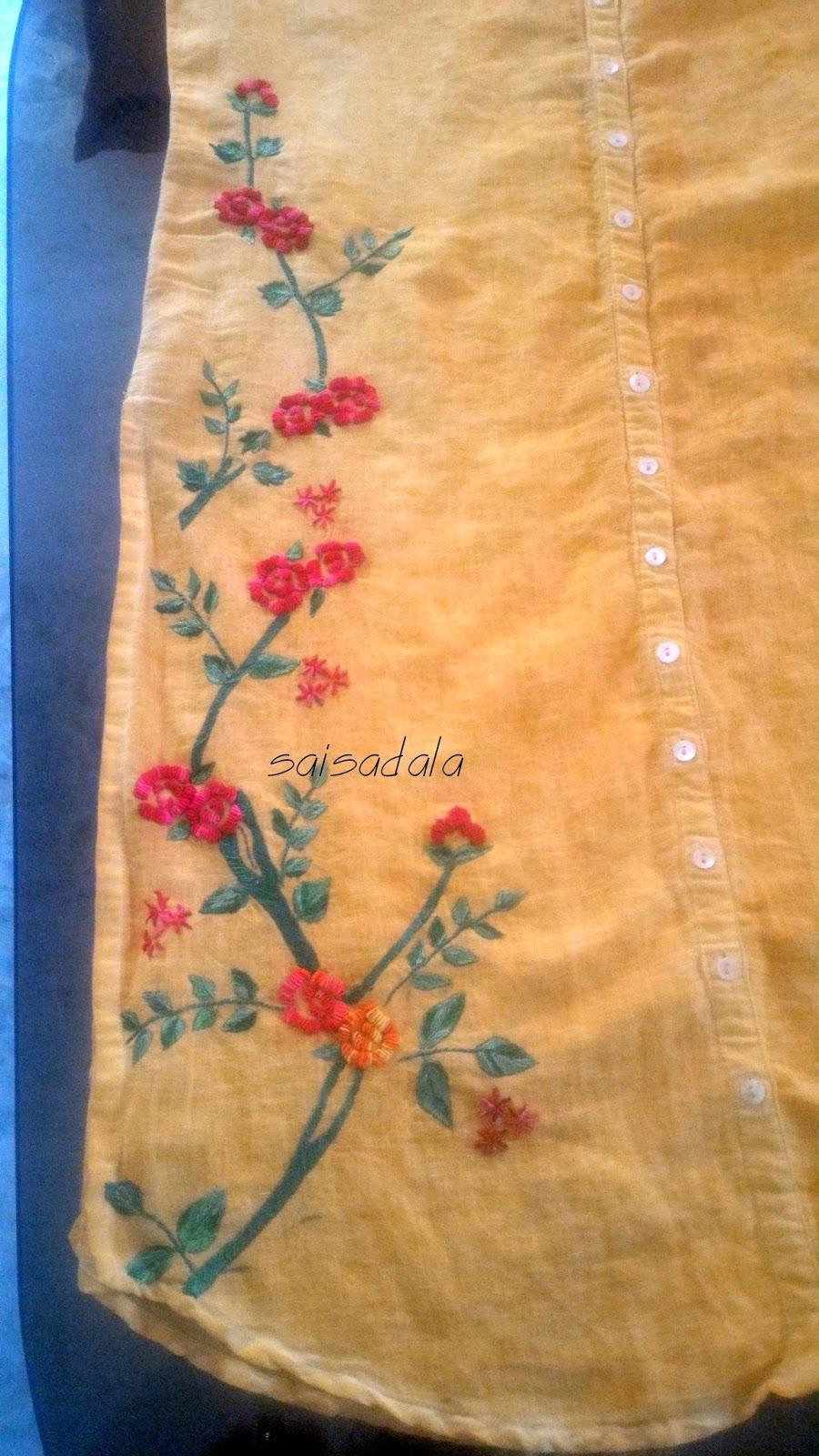 Sadala's Embroidery: Bullion Work