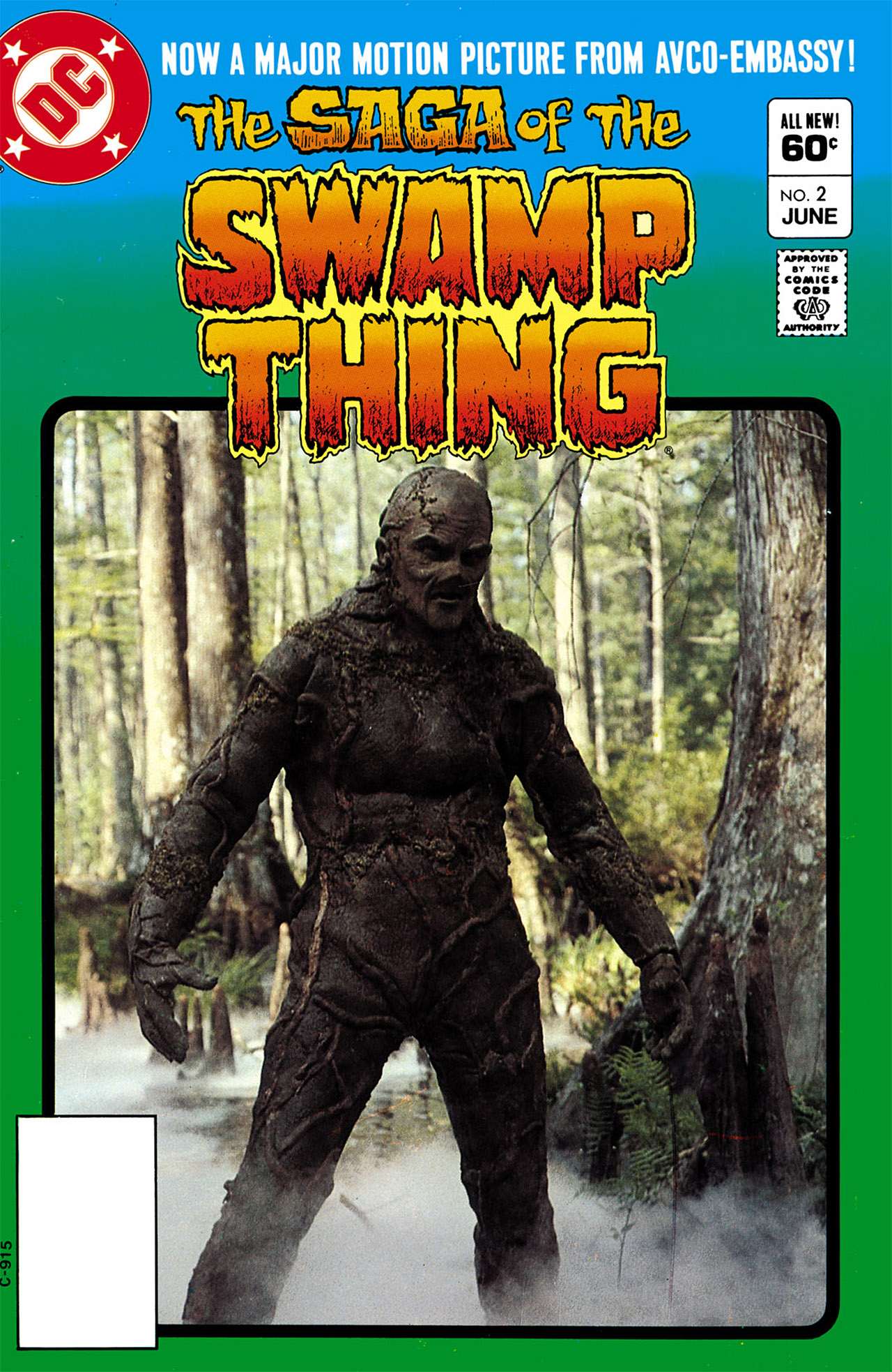 Swamp Thing (1982) Issue #2 #10 - English 1