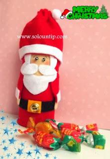 dulcero-navideño-reciclando-rollos-papel-higienico
