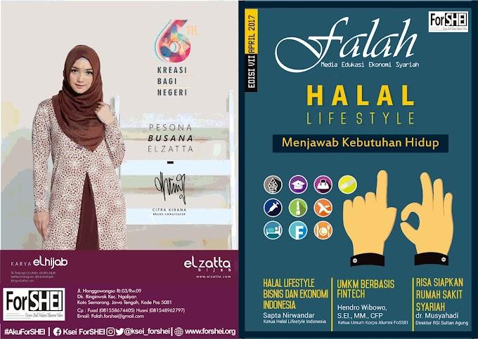 """Majalah Falah Edisi 7 """"Halal lifestyle Menjawab Kebutuhan Hidup"""""""