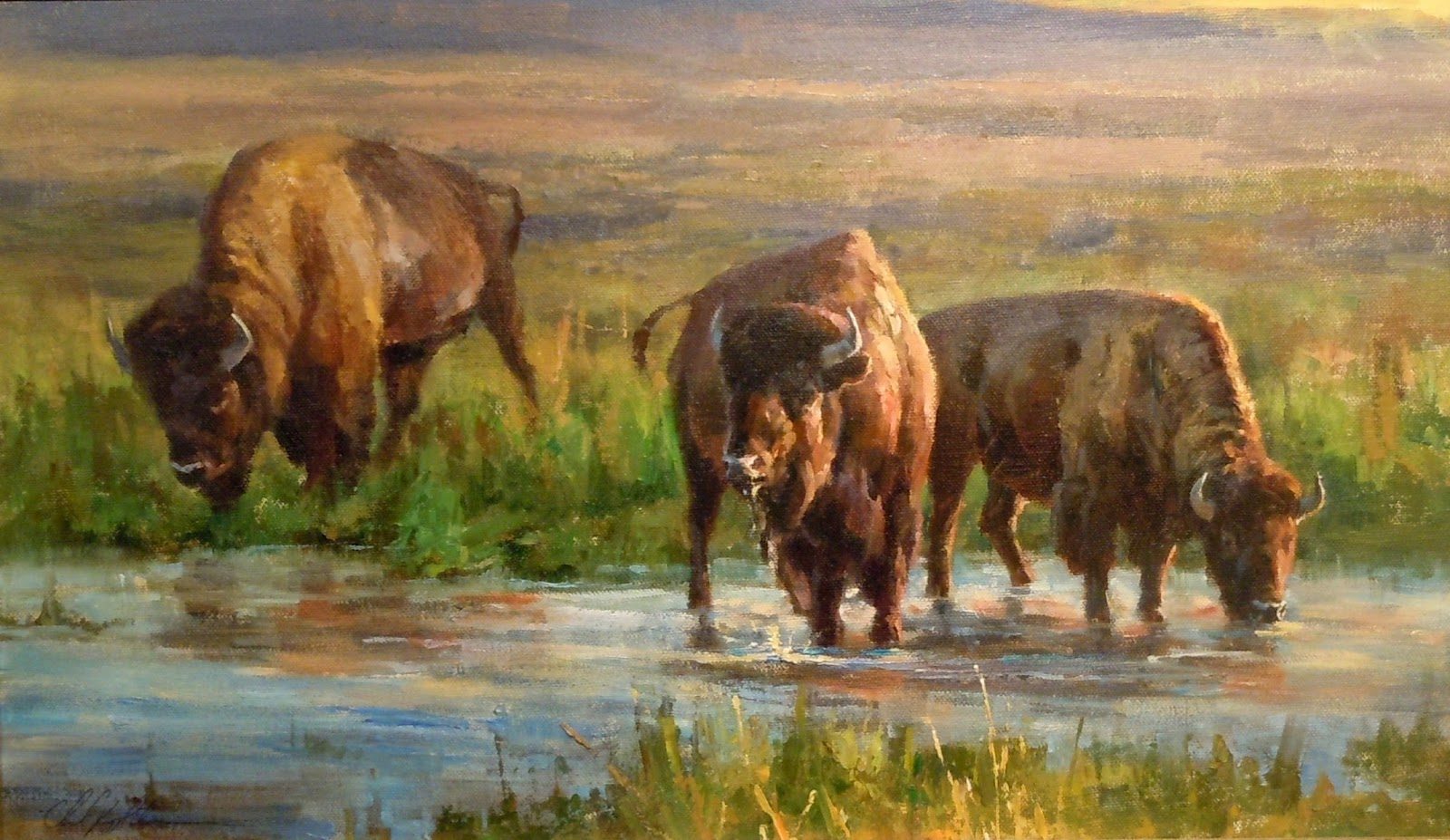 george carlson article from wildlife art journal