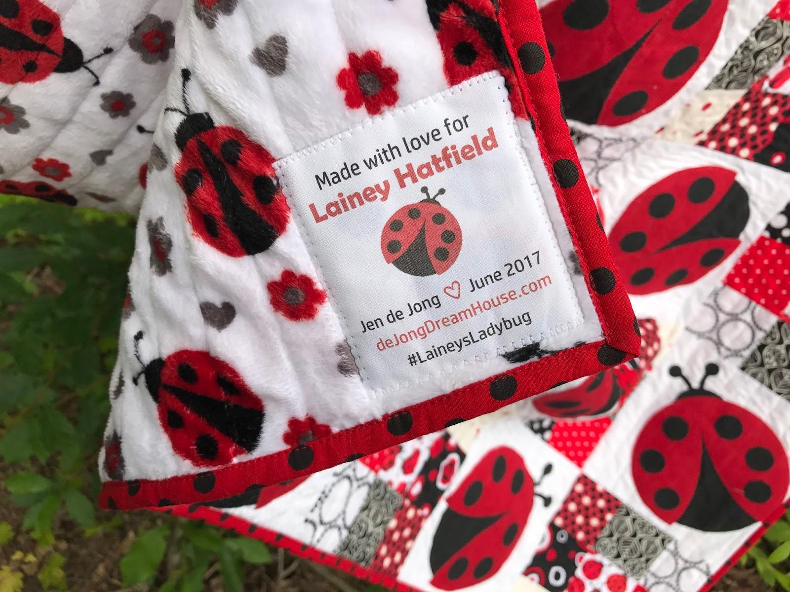 de Jong Dream House: #82: Lainey's Ladybug : lady bug quilts - Adamdwight.com