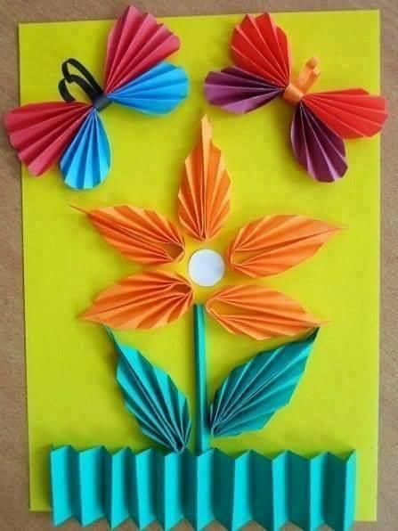 Ideias de artes com papéis sanfonada