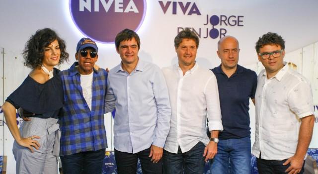 Skank e Céu homenagearão Jorge Ben Jor em projeto da Nivea