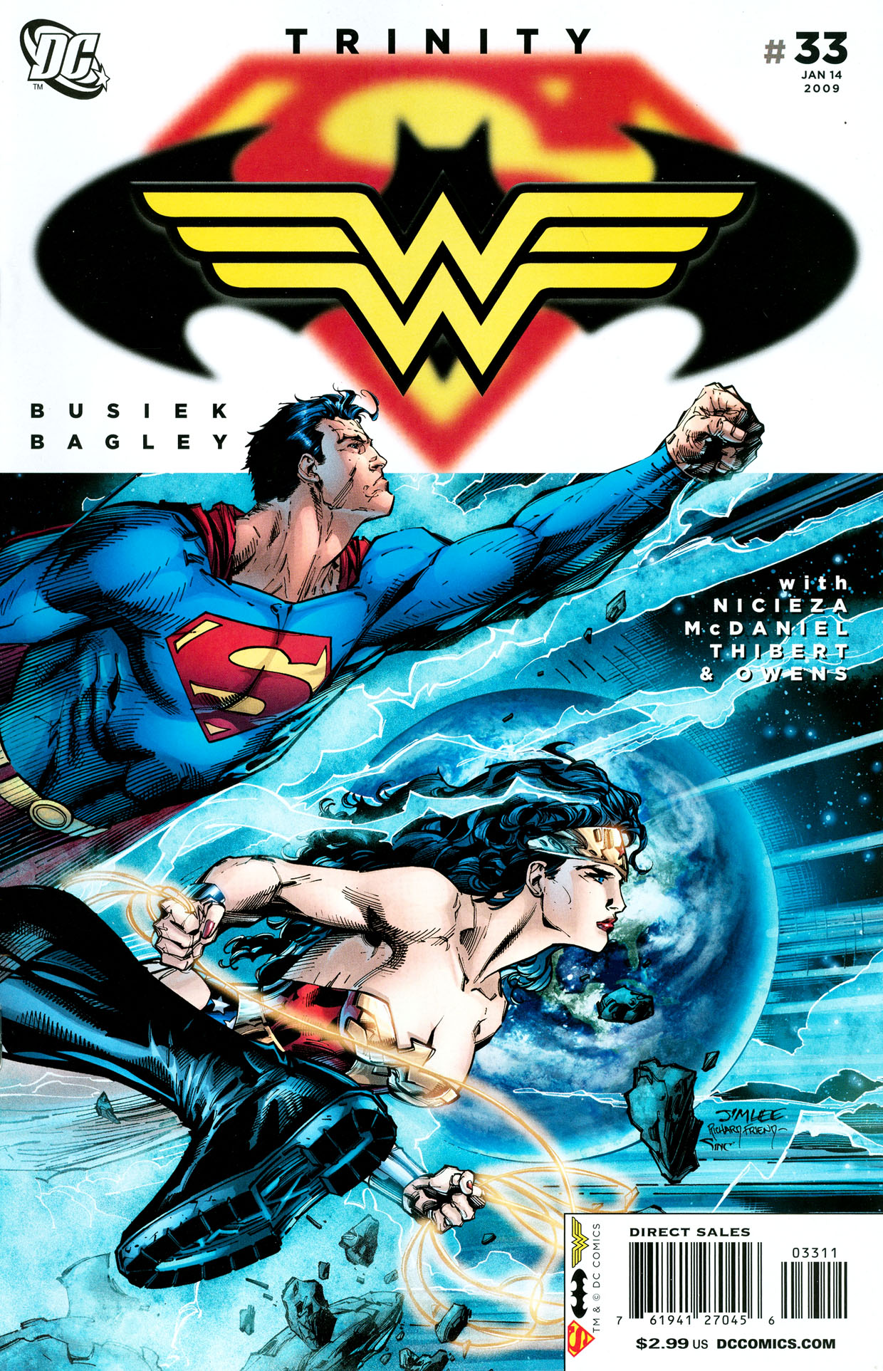 Read online Trinity (2008) comic -  Issue #33 - 1
