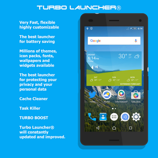 Turbo Launcher® Premium v0 0 37 APK [Latest] - Karan Mobi