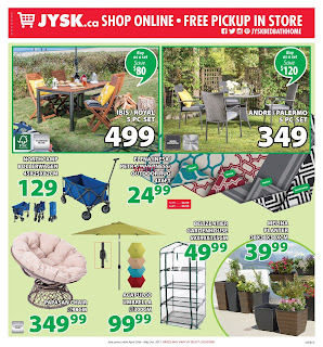 JYSK Bed Bath Home Flyer April 27 to May 3