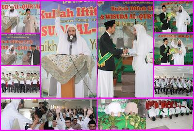 Kuliah Iftitah Semester Genap dan Wisuda Al-Qur`an IV
