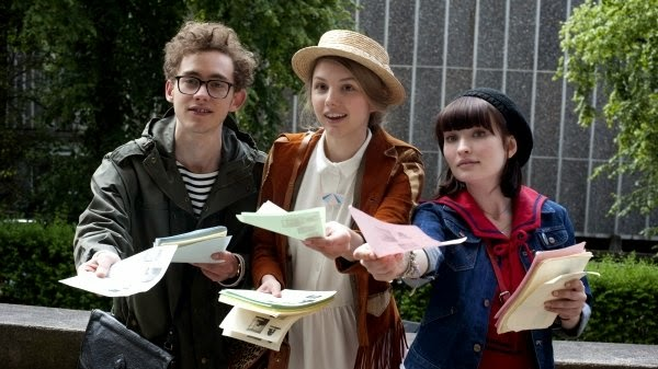 Olly Alexander, Hannah Murray, and Emily Browning in God Help the Girl