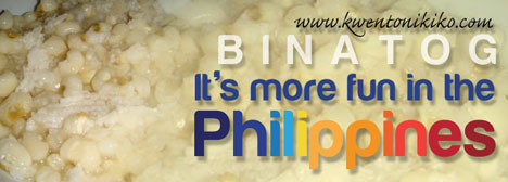 Binatog - It's more fun in the Philippines