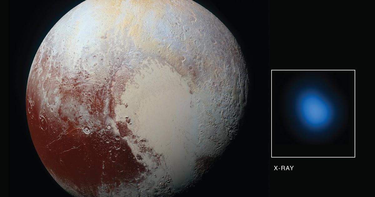 La prima immagine di Plutone ai raggi-X