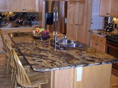 Desain Meja Dapur Dari Granit Modern Untuk Rumah Minimalis 4