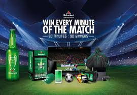 Promoção Heineken- Champion The Match