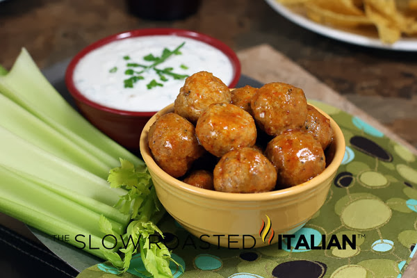 http://www.theslowroasteditalian.com/2013/01/buffalo-chicken-meatball-poppers-recipe.html