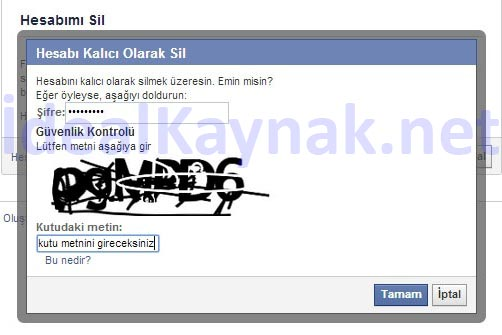 Facebook Hesabını Kalıcı Olarak Silme - Resimli Anlatım
