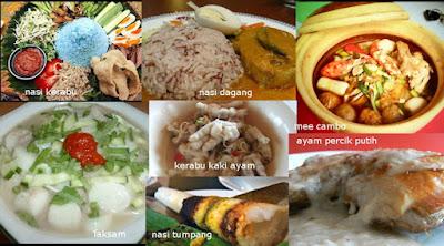 Trend' orang  Kelantan sarapan makan nasi