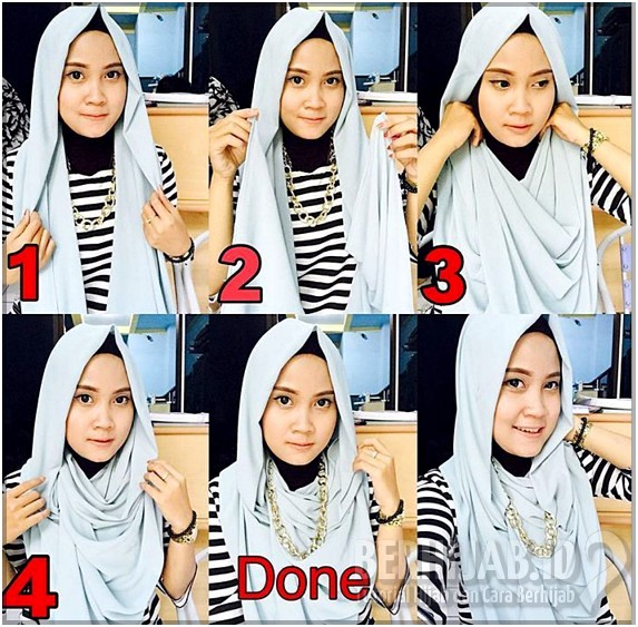 Macam Tutorial Hijab