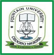 Fountain University, Osogbo, FUO post UTME/Direct Entry  form, eligibility, requirements and screening details have been announced – 2016/2017 academic session, 2016/2017 Fountain University Post UTME/Admission Screening Form Is Out With Admission Requirements