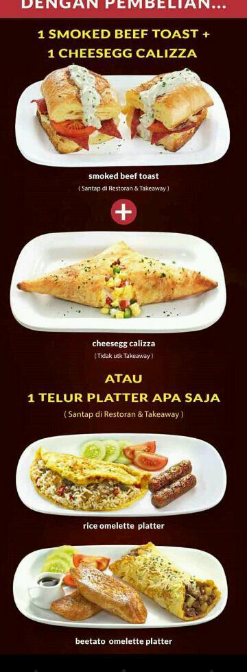 Promo Pizza Hut Terbaru Menu Gratis Paket Sarapan Pagi