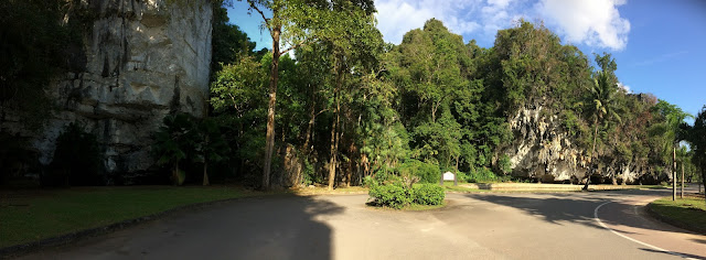 Phang Nga layby-stunning scenery