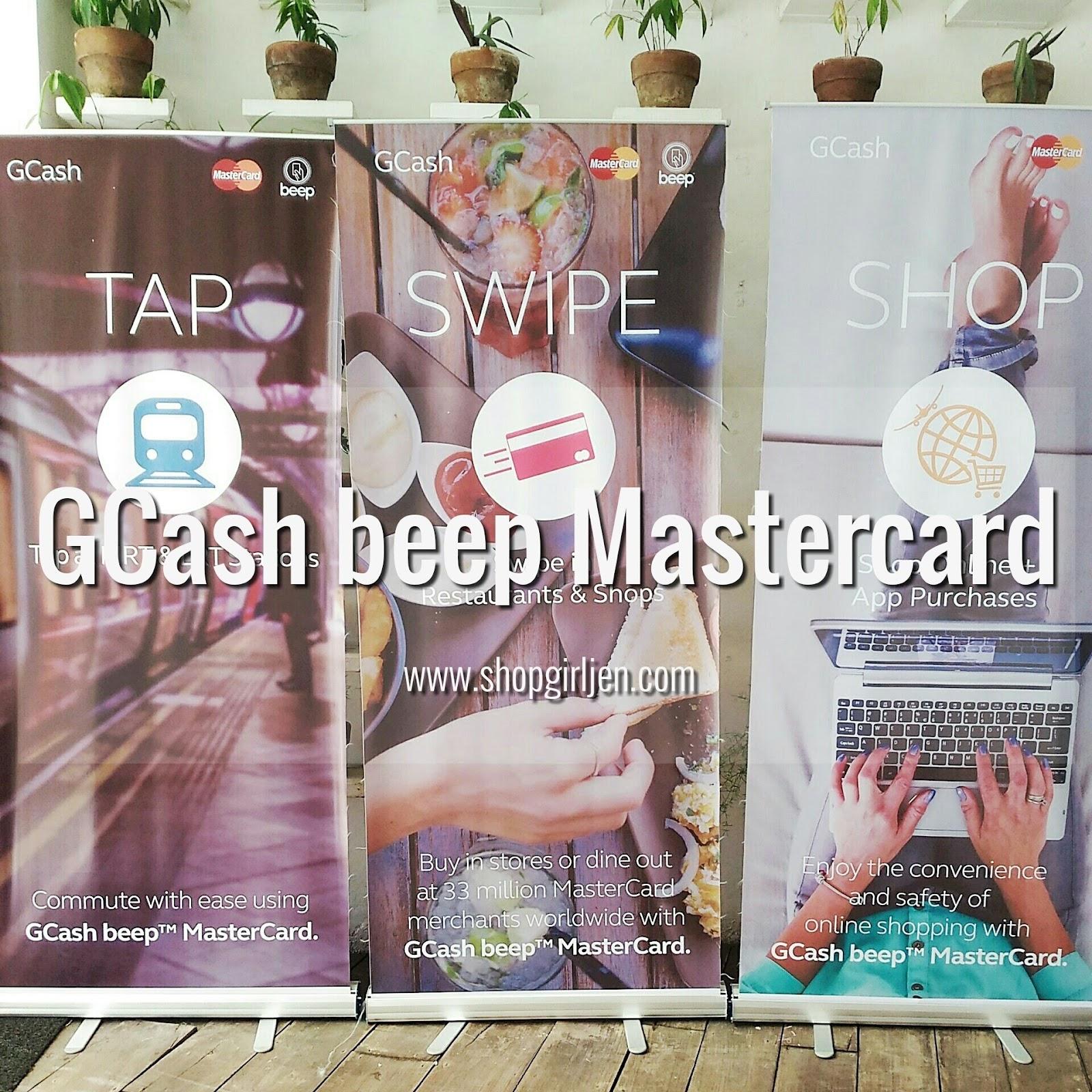 Shopgirl Jen: TAP, SWIPE AND SHOP WITH GCASH BEEP MASTERCARD