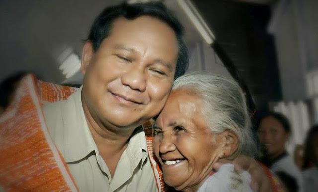 Prabowo: Ibu Jadikan Saya Pribadi Pantang Menyerah
