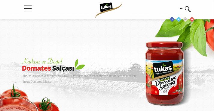 Türkiye'deki domates salçası ve biber salçası üreticileri ve ihracatçıları.-Tukaş Firması