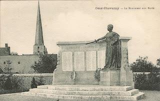 Monuments aux morts - Cour-Cheverny