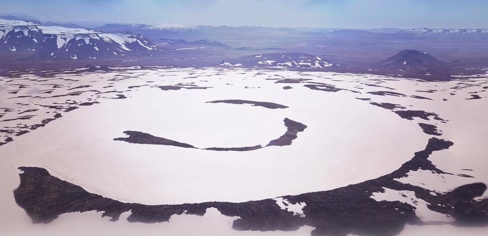 Okjökull glacier