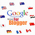 Google Translate Widget with Flags for Blogger