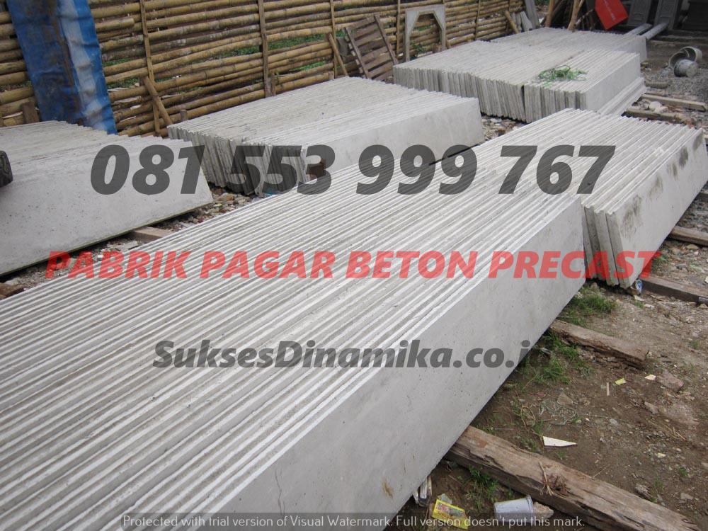 Harga Pagar Beton Termurah Malang, Tiang Pagar Panel Beton