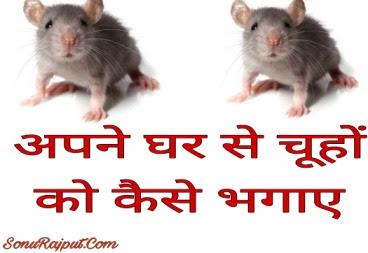 Ghar se Chijo ko kaise bhagaye