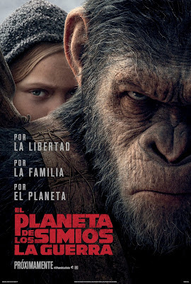 descargar El Planeta de los Simios 3 La guerra en Español Latino