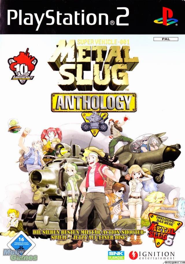 Metal Slug Anthology Ps2 Iso Ntsc www.juegosparaplaystation.com