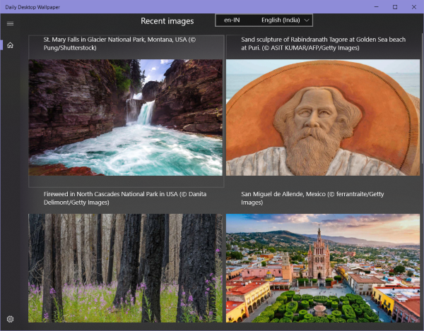 Daily Desktop Wallpaper Bing Windows 10