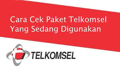 Cara Cek Paket Telkomsel yang Sedang Digunakan