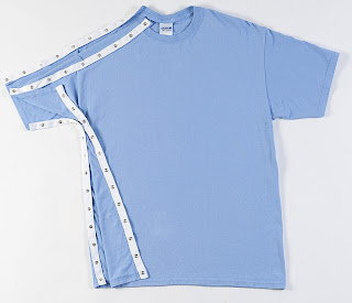 comfortable rehab shirts