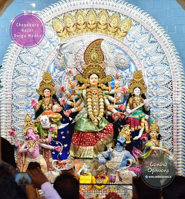 Durga Puja at Choudhury Bazar