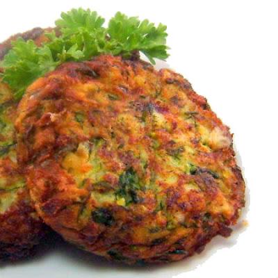 ... Bite: Skordalia (Greek Potato and Garlic Dip) with Zucchini Fritters