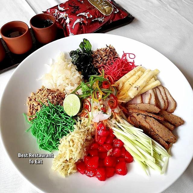 Rama V Menu - Thai Yee Sang